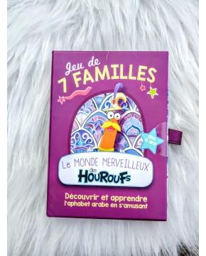 Jeu de 7 Familles Le Monde Merveilleux des Houroufs